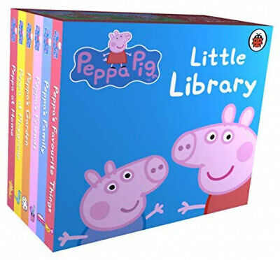 Peppa Pig Little Library Board Book Childrens Bedtime Story FAST FREE SHIPPING