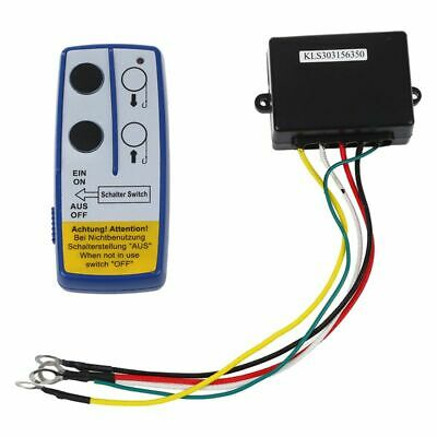 Wireless Winch Remote Controller 12 V Volt Recovery 4x4 ATV Hand Set Y6U9