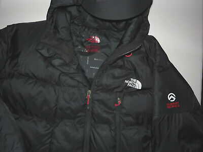 4e163bf6e THE NORTH FACE Summit Series Down FILLED HOODED BLACK Jacket Men's Large  T404