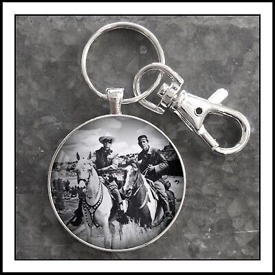 Lone Ranger And Tonto Photo Screen Capture Keychain Gift
