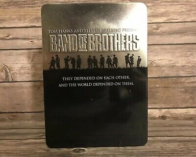 Band of Brothers (DVD, 2002, 6-Disc Set) Steel Case Complete