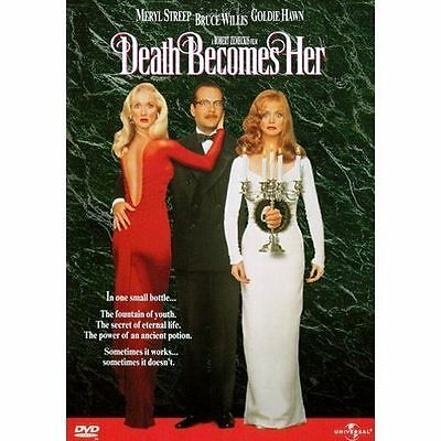 Death Becomes Her (DVD, 1998, Keep Case Subtitled Spanish)