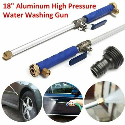 2019 Hydro Jet High Pressure Power Washer Water Spray Gun Nozzle Wand Attachment