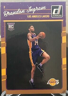 1b0dabf800d BRANDON INGRAM 2018-19 Donruss Optic Express Lane Insert #9 Los ...