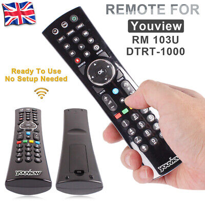 Remote Control for Humax YouView HD TV Recorder DTR-T1000,DTR-T1010 & DTR-T2000