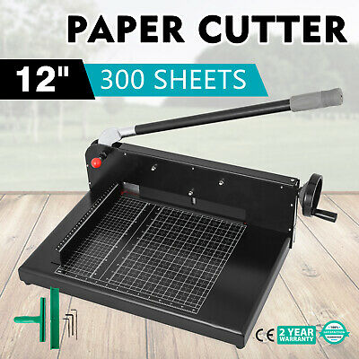 Premium Heavy Duty A4 To B7 Size Paper Cutter Guillotine Trimmer 300 Sheets