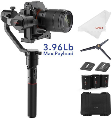 MOZA AirCross 3-Axis Handheld Gimbal Stabilizer for Mirrorless Camera to 3.9Lb
