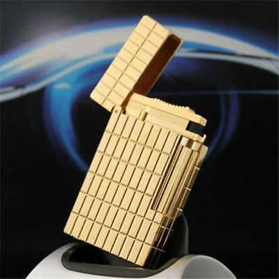 Lighter NEW gold color S.T Memorial lighter Bright Sound ! beautiful lighte
