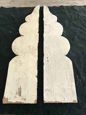 Antique Corbel Finial Architectural Salvage Victorian Wood 1800s Gingerbread