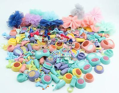 LPS Accessories Lot Collar Necklaces Food Drink Dress Clothes Skirt 10Lot Random