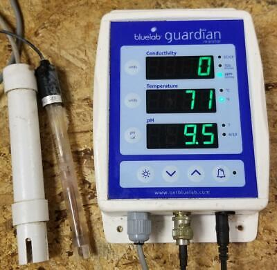 BLUELAB GUARDIAN CONNECT PH EC TDS PPM Contin  Read Meter