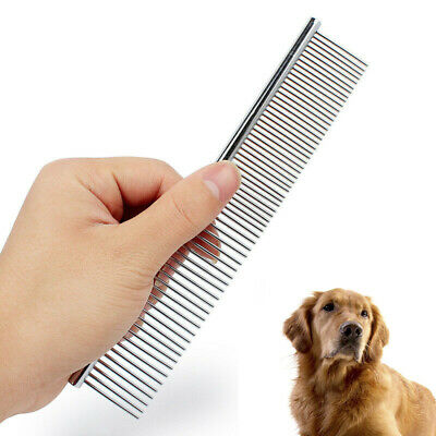 Dog Grooming Comb New Metal Hair Shedding Rake Mat Tools For Pet Cat Supply