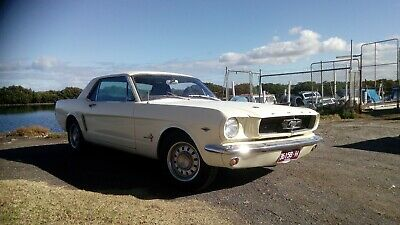 Mustang 1964 V8 coupe...car number 148 of the first 200 ever built in California