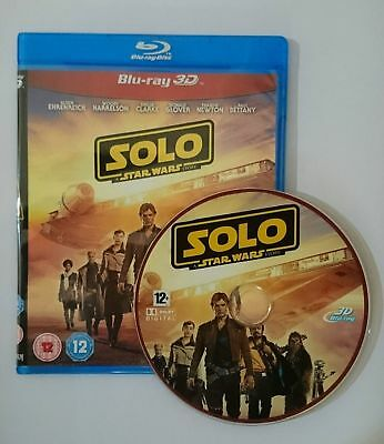 Solo: A Star Wars Story [3D Blu-ray Disk] **Region Free**