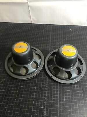 VINTAGE Calrad CR-8X Coaxial Speakers 1950's Brand New NOS