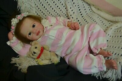Cute Reborn Baby GIRL Doll JASMINE was Juliet by Marissa May COMPLETED