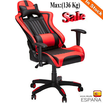 Ajustable Gamer Silla gaming oficina PU leather Racing Despach Reclinable SILLA