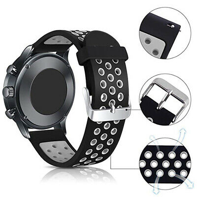 for Samsung Galaxy Watch 42mm/46mm Replacement Silicone Sport Wrist Band Strap