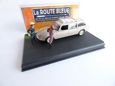ALTAYA LA ROUTE BLEUE VEHICULE VOITURE CITROËN ID 20 BREAK 1/43 eme