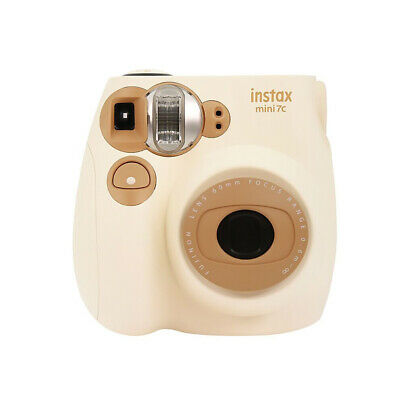 Fuj film Instax Mini7c Instant Camera Film Cam Auto-focusing with Wrist T9N3