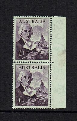 Australia  Pre-Decimal  1963  1  Pound Navigators Bass..joined Pair...muh / Mvlh