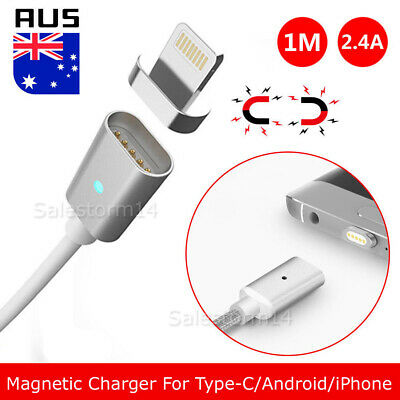Micro USB Charging Cable Magnetic Charger Samsung Kindle Android Type c iPHONE Y