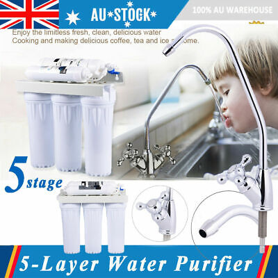 5 stages Water Purifier Filter RO reverse osmosis drinking water filter system