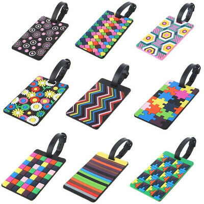 1PC Travel Luggage Tags Labels Strap Address ID Name Suitcase Bag Baggage Secure