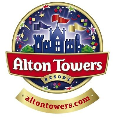 Alton Towers Tickets !!! Discounted to £28.05 per adult any day *** Fast Del ***