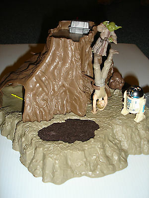 Vintage Star Wars Dagobah Yoda's foam replacement reproduction swamp (READ!!!!)