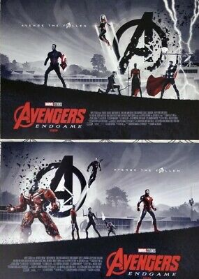 Marvel Avengers Endgame ODEON A3 Poster BOTH 1 & 2, Matt Ferguson Captain Antman