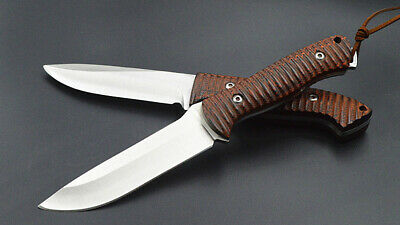 "8.5""Hunting Fixed Blade Knife Sharp Opening Survival Camping straight Knife"