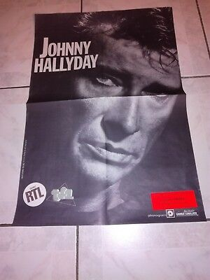 """Johnny Hallyday """"Affiche Officielle"""" Bercy 1987"""