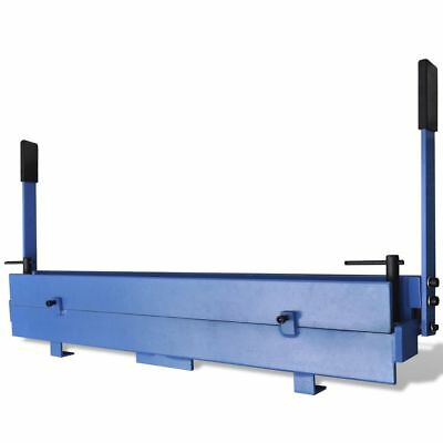 Workshop Metal Sheet Folder Sturdy Manually Operated 1000mm Roll Bending Machine