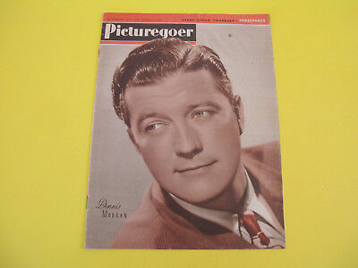 Dennis Morgan on Front Cover 1945 Picturegoer Magazine Film Entertainment Weekly