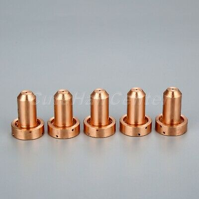 5Pcs TIG Nozzle Tips 9-8206 for SL60 SL100 Plasma Cutter 30A Replacement Kit