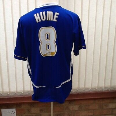Leicester City Home Shirt ..2005-06.....Hume