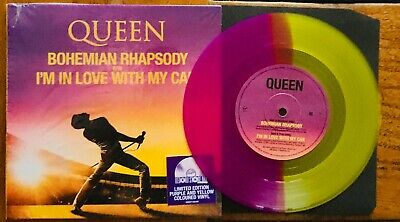 Rare QUEEN RSD Colored 7' BOHEMIAN RHAPSODY Still Sealed 45T 2019 Scellé !
