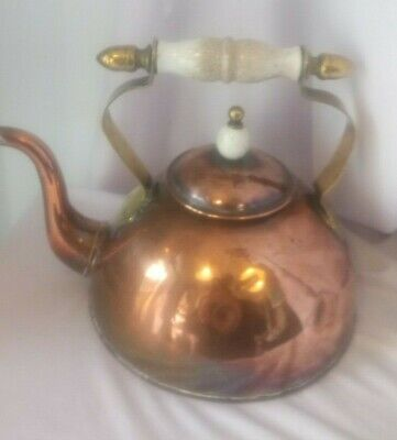 COPPER, ANTIQUE, FIRESIDE, ENGLISH, 19th CENTURY, (LATE VICTORIAN), SOLID COPPER