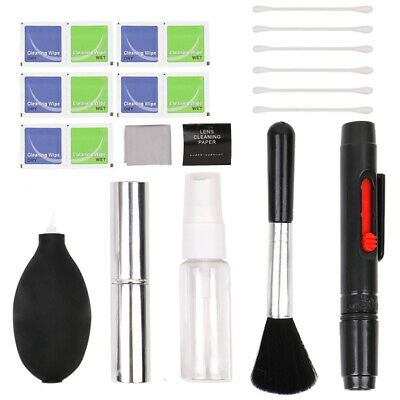 9 in 1 Professional Lens Cleaning Cleaner kit for Canon Nikon S ony DSLR T4X7