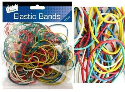 Over 1000Pcs 250g Strong Elastic Rubber Bands for Home School STATIONERY Office
