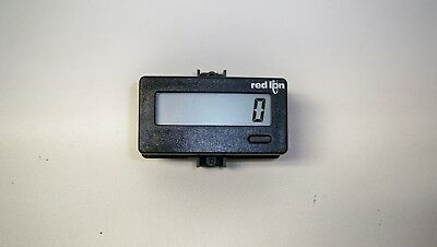 *NEW* Red Lion CUB4L000 Miniature 6-Digit Counter with Reflective LCD Display
