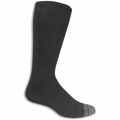 Fruit of the Loom Men's Work Gear Heavy Duty Over-the-Calf Sock 6 Pair
