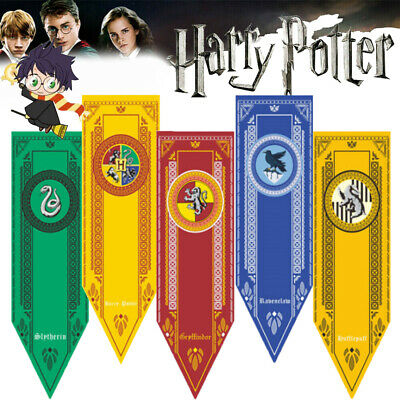 Harry Potter Slytherin Ravenclaw House Banner Flag Wall Drap Decor Collect Gifts