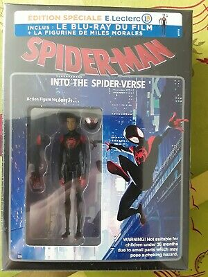 Spider-Man - Into The Spider-Verse / New Generations  Blu-Ray+Figurine  - Neuf