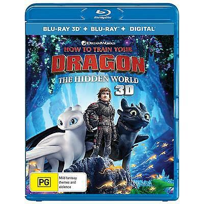How To Train Your Dragon - The Hidden World (Blu-ray, 2019, 2-Disc Set)