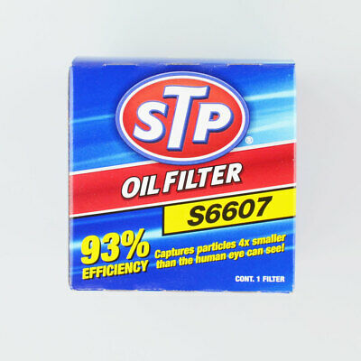 LOT OF 6 Engine Oil Filter FULL SYNTHETIC STP S14615ML for