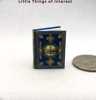 """ABBEYS AND CASTLES Miniature Dollhouse 1:12 Scale Book 1"""" Scale Illustrated Book"""