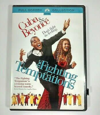 The Fighting Temptaions DVD 2003 Full Screen Cuba Gooding Jr Beyonce Mike Epps