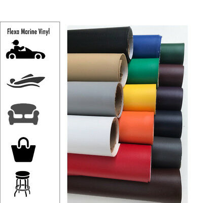 Marine Vinyl Fabric: Boat/Auto Upholstery | Matching Piping Avail. (29+ Colors)